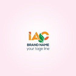 IAC orchard creative vector logo, IAC identity brand logo desing