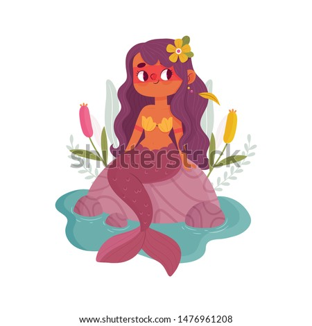 Iara - Mermaid from a brazilian folklore