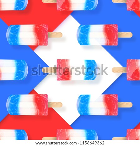 stock-vector-ice-cream-popsicles-red-white-and-blue-colors-seamless-pattern-vector-stock-illustration