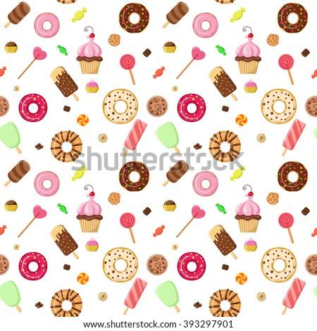 ice cream sweet dessert donut