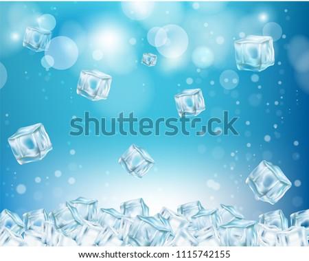 ice cube wallpaper vector