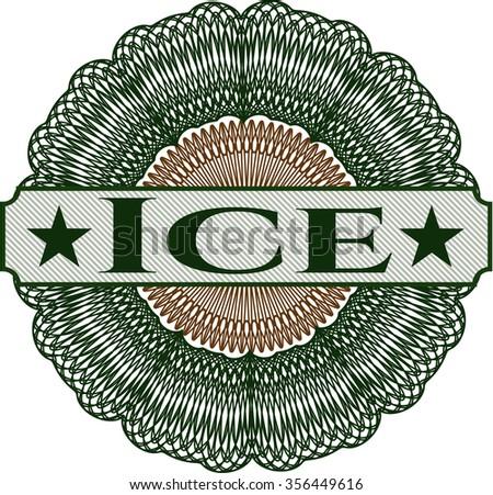 Ice linear rosette