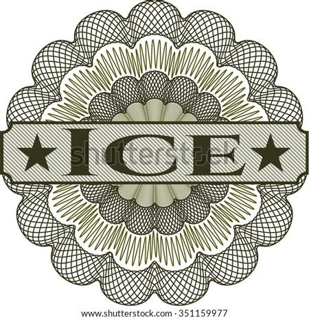 Ice money style rosette