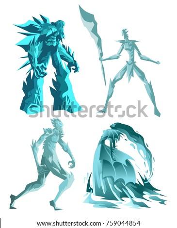 ice monster titan