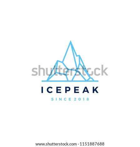 ice peak mount stone mountain
