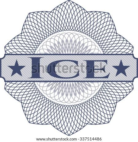 Ice rosette