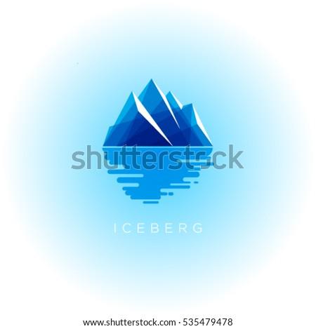iceberg logo iceberg emblem