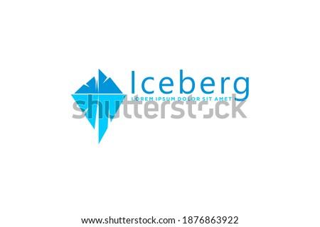 iceberg logo modern technology