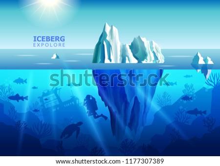 iceberg ocean arctic ecology
