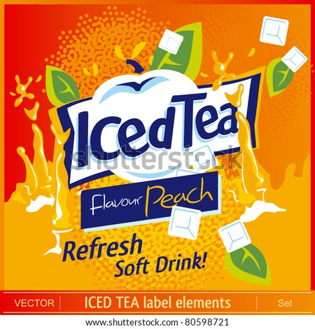 Iced Tea label elements
