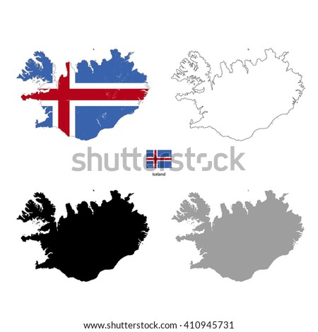 iceland country black
