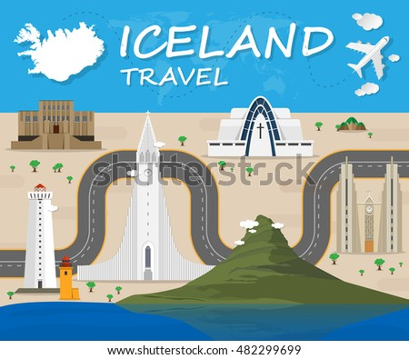 iceland landmark global travel