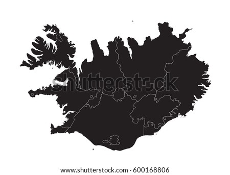 Free vector map of iceland free vector art at vecteezy iceland map gumiabroncs Image collections