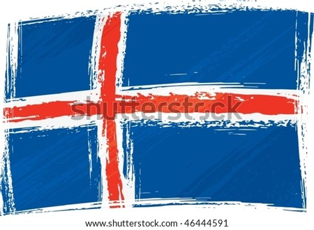 iceland national flag created