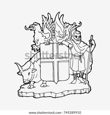 iceland symbols emblem  wise