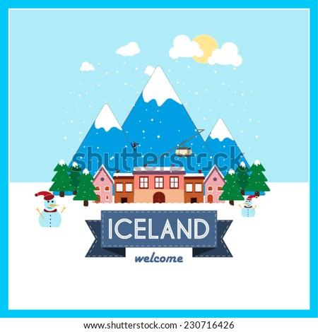 iceland  winter holiday