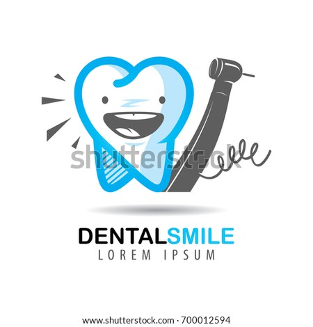 icon and the logo of dental