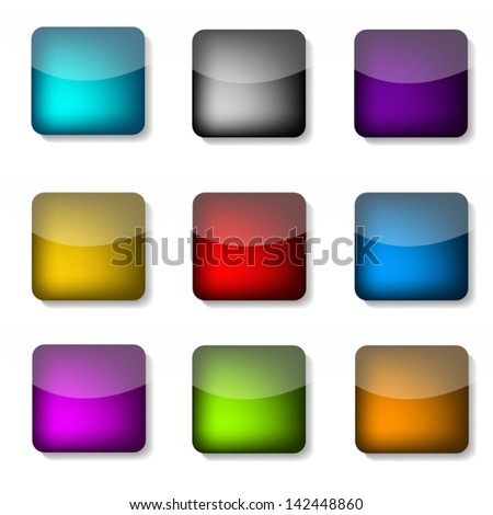 Apps Icons Design Icon App Graphic Button Sign
