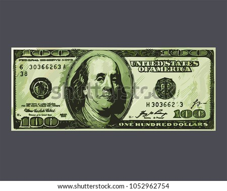 icon banknote the us dollar