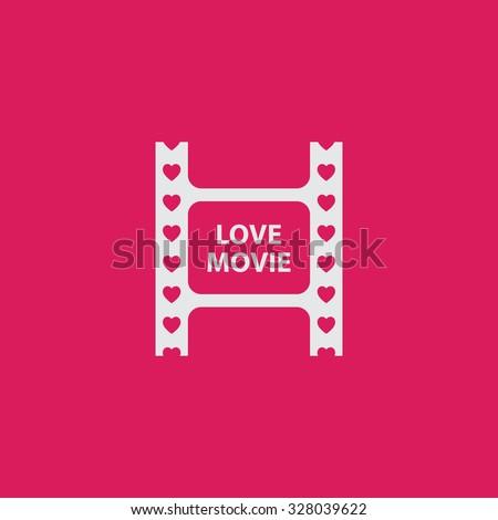 icon concept of love movie