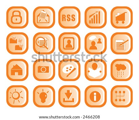Icon design - stock vector