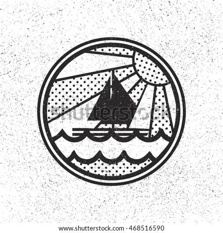 icon fishing club in vintage