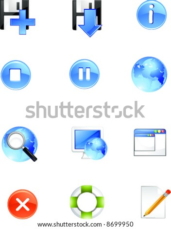 icon for web and application