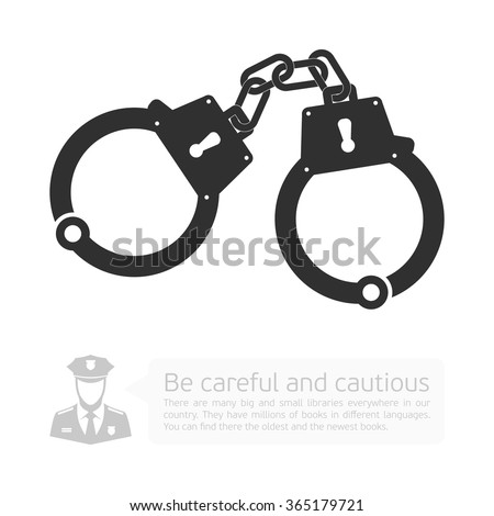 Handcuffs Vector Free | 123Freevectors