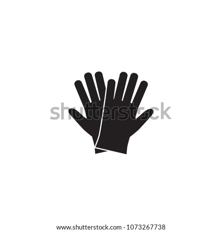 icon latex gloves