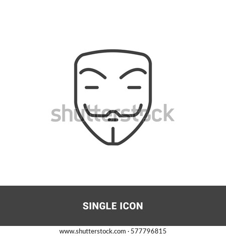 icon mask single icon  graphic