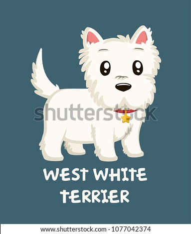 stock-vector-icon-of-a-dog-of-breed-west-white-terrier-text-west-white-terrier