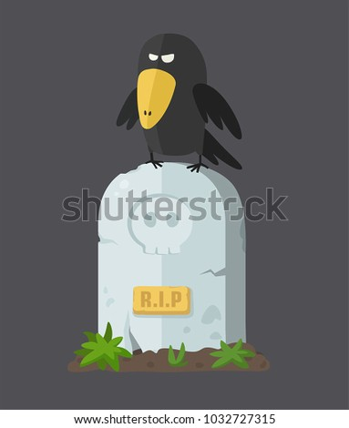 icon of a tombstone with a