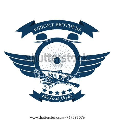 icon of aviation emblem in
