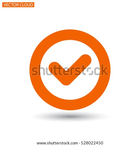 icon of check box icon Vector icon 10 EPS
