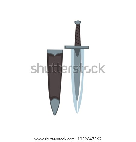 icon of georgian dagger with