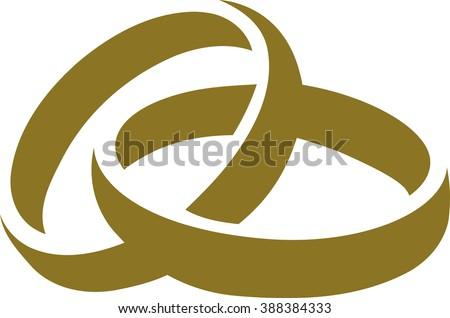 Wedding rings symbol  Wedding Rings Vector | Free Vector Art at Vecteezy!