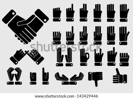 icon of hand set