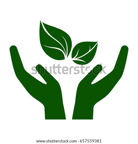 icon of hands carefully holding