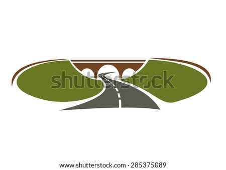 icon of highway passes under