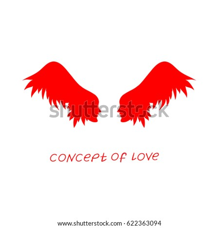 icon of love vector
