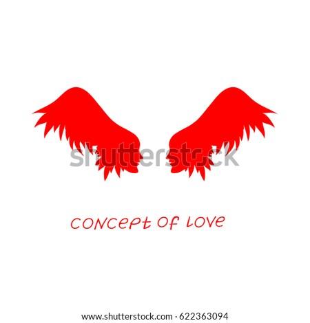 icon of love vector