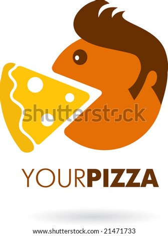 icon of pizza