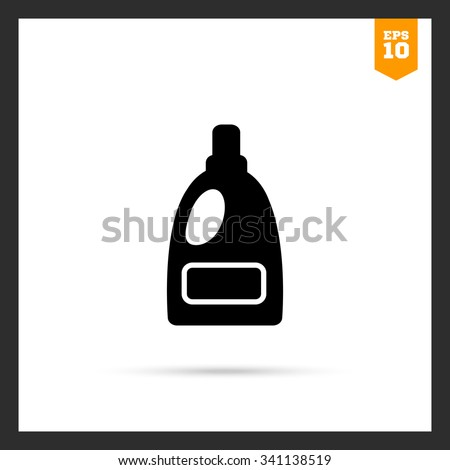 icon of plastic bottle of