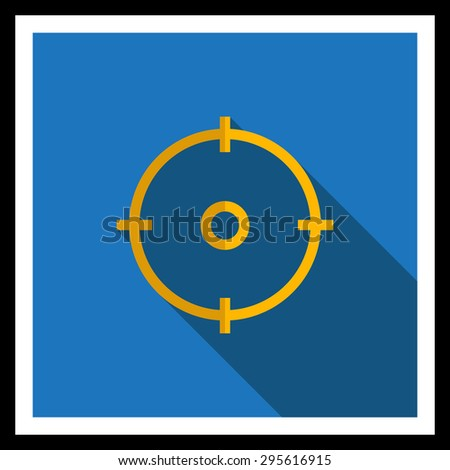 icon of sight in circle