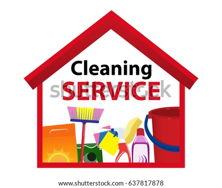 Cleaning Service Tools Vector Download Free Vector Art Stock