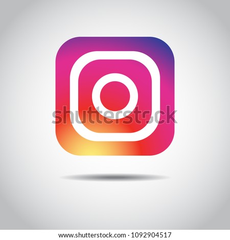 Icon photo camera. Vector illustration EPS 10 - Shutterstock ID 1092904517