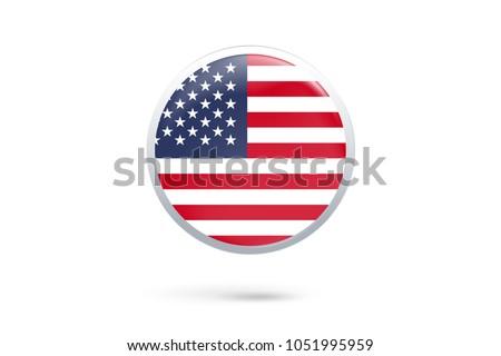 icon representing button flag