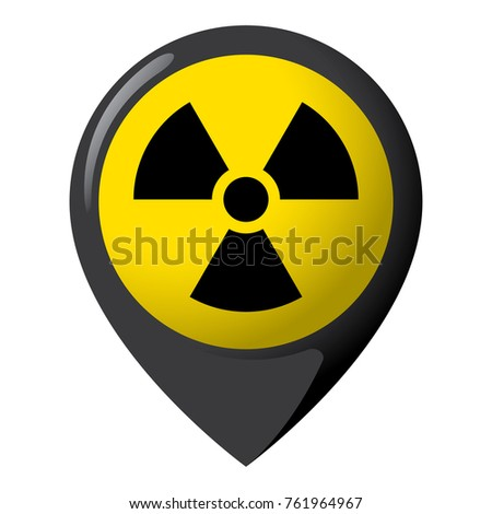 icon representing radiation