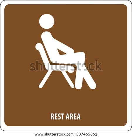 Icon rest area