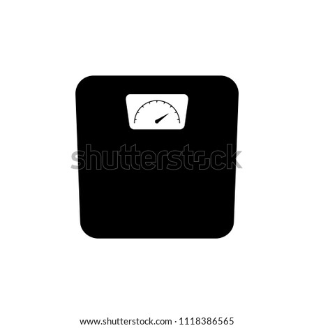 Icon scales . Scales for products, scales for weighing